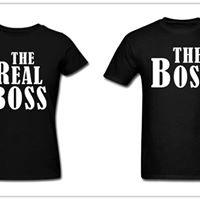 The boss t shirts