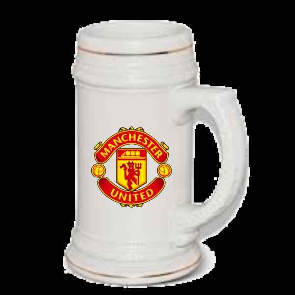 Manchester United Beer Mug
